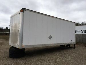 2006 24 FOOT BOX WITH BARN DOORS ONLY $3,995