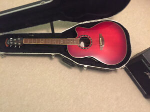 Ovation Series acoustic/electric guitar for sale