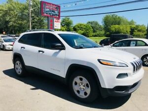 Jeep Cherokee 4WD-Sport-Blanc-Camera-Automatic-Jamais Accidentée