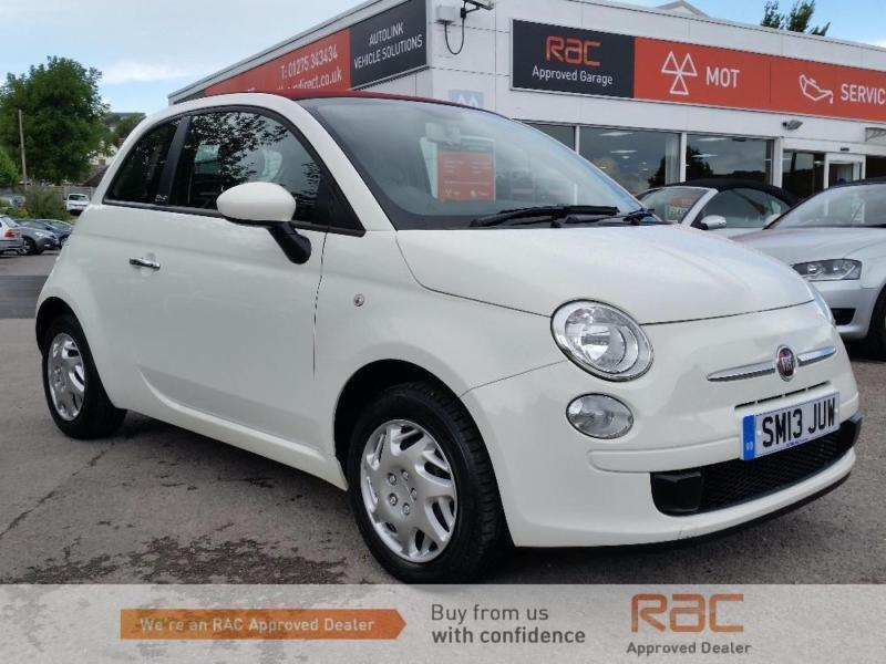 FIAT 500 C POP, White, Manual, Petrol, 2013