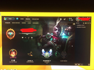 League of Legends Account(LOL-NA)