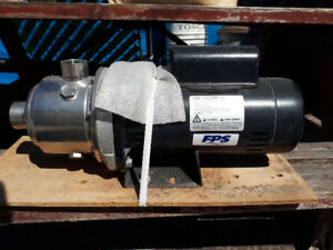 NEW FRANKLIN ELECTRIC 2 HP MULTISTAGE HORIZONTAL WATER PUMP $500