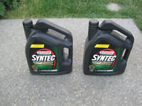 Synthetic OIL SAE 5W20 Castrol both $40