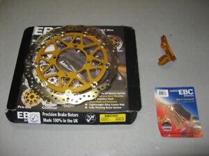Disque avant oversize 320 mm  neuf et brake pads KLX250 06-07