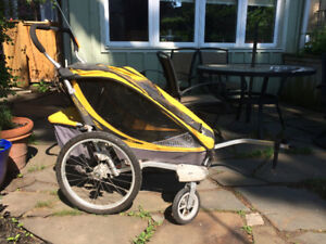 Chariot Cougar, jogging stroller and bike trailer