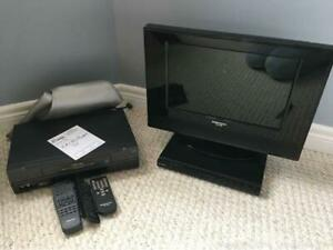 Tv, VCR And DVD Player