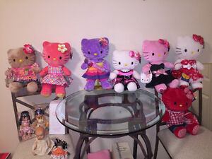 HELLO KITTY STUFFIES (WITHOUT OUTFIT) FOR SALE.