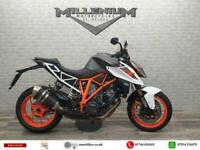 2018 (68) KTM 1290 SUPERDUKE R finished in the white and orange paint scheme
