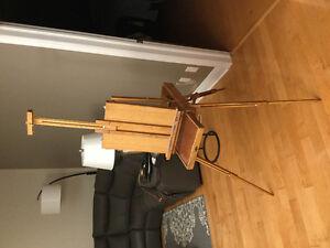 Plein Air portable easel by Jullian