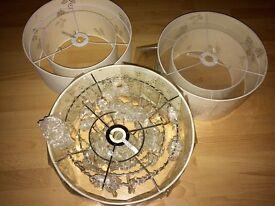 Brand New Laura Ashley Ceiling Light Shades