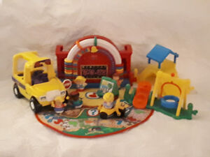 Fisher Price Musical School and Bus