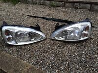 Vauxhall Corsa C 2004 headlights