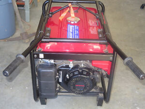 Honda Generator EB 5000 X Watt Portable Gas Powered BARELY USED