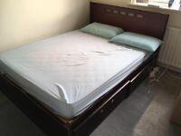 Double bed: URGENT SALE