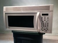 LG over the oven microwave