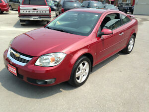 2009 CHEVROLET COBALT LT COUPE  LOADED ONLY 120000 KM'S