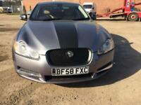 Jaguar XF 2.7TD auto Luxury 4 DOOR - 2008 58-REG - FULL 12 MONTHS MOT