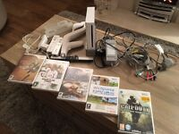 Nintendo wii bundle - console, games and accessories