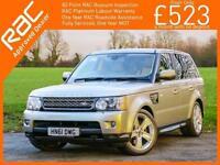 2011 Land Rover Range Rover Sport 3.0 TDV6 Turbo Diesel 255 BHP HSE Luxury 4x4 4