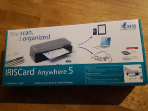 IRISCard Anywhere 5 Cordless Card Scanner