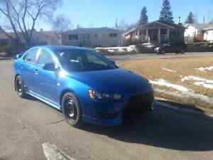 2009 lancer sun and sound package