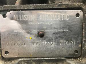 Transmission automatique allison AT540