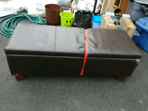 Ottoman storage bench. Make an offer