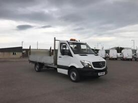 Mercedes-Benz Sprinter 313 LWB DROP SIDE EURO 5 WITH TAIL LIFT DIESEL (2014)