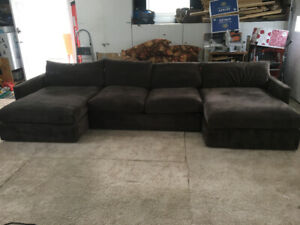 Crate and Barrel Sectional Couch