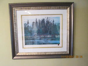 Group of Seven Painting (framed)