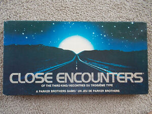 1978 Close Encounters of the Third Kind Board Game