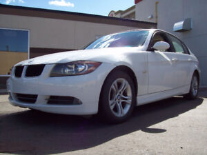 """2008 BMW 328XI """"ALL-WHEEL-DRIVE""""  Automatic in white! Only $8800"""