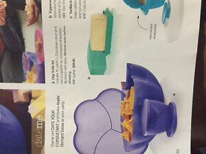 Tupperware chip n dip set