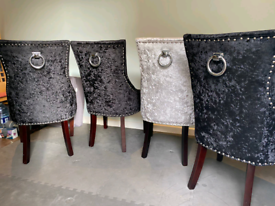 Knocker dining chairs
