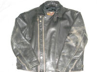 Harley motorcycle leather jacket