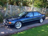 BMW e38 750i long V12 engine!!! Long MOT