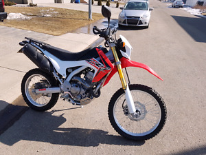 2015 Honda CRF250L With Accessories Priced to Sell!!!!!