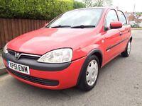 Vauxhall Corsa Confort 1.2 5 Door Low Miles. Drives Superb.
