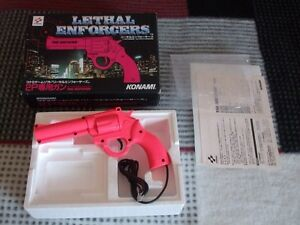 WANTED Lethal Enforcers Pink Gun