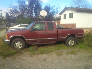 ITS GOT TO GO - 1998 Chev Pickup 1500 Silverado Pickup Truck