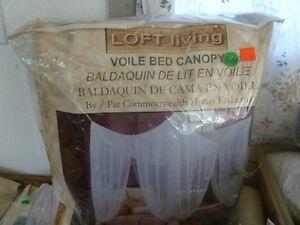 BALDAQUIN VOILE 100% POLYESTER POUR LE LIT Gatineau Ottawa / Gatineau Area image 1