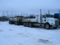 2007 kenworth gravel truck