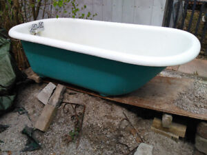 Free standing Cast Iron Bathtub