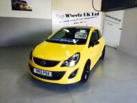 VAUXHALL CORSA LIMITED EDITION 1.2, 2013 PLATE, 49000 MILES, 12 MONTHS MOT & FULL SERVICE HISTORY.