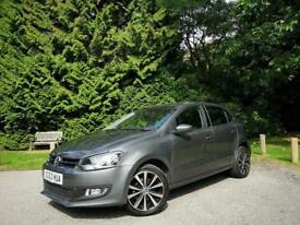 2014/63 VW VOLKSWAGEN POLO 1.2 MATCH EDITION, MANUAL, 5-DR**GENUINE 33,000 MILES