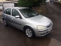 2004 Vauxhall corsa fsh low miles