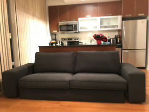 IKEA KIVIK sofa, anthracite, 3 years old, great condition