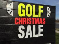 GOLF CHRISTMAS SALE  Uncle Ross Golf