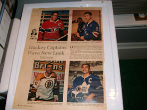 Vintage hockey pictures