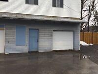 Storage unit downtown Kingston.
